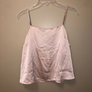 Asos champagne colored tank top - NEVER WORN